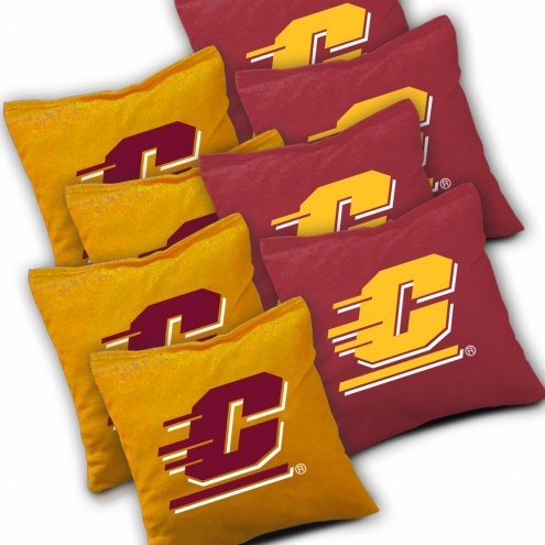 Central Michigan Chippewas Cornhole Bags