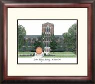 Central Michigan Chippewas Alumnus Framed Lithograph