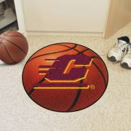Central Michigan Chippewas Basketball Mat