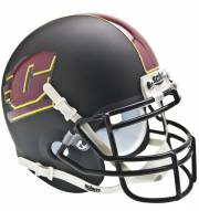 Central Michigan Chippewas Black Schutt Mini Football Helmet
