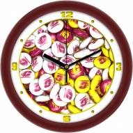 Central Michigan Chippewas Candy Wall Clock