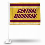 Central Michigan Chippewas College Car Flag