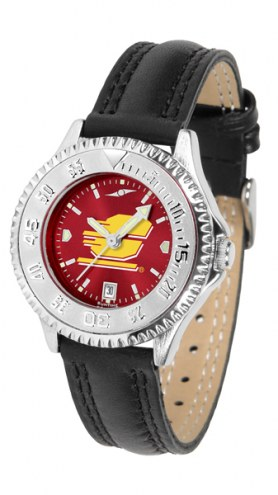 Central Michigan Chippewas Competitor AnoChrome Women's Watch