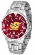 Central Michigan Chippewas Competitor Steel AnoChrome Color Bezel Men's Watch