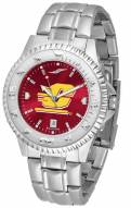 Central Michigan Chippewas Competitor Steel AnoChrome Men's Watch