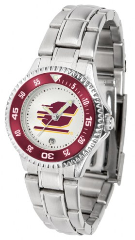Central Michigan Chippewas Competitor Steel Women's Watch