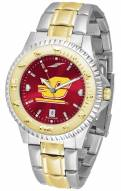 Central Michigan Chippewas Competitor Two-Tone AnoChrome Men's Watch