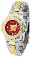 Central Michigan Chippewas Competitor Two-Tone AnoChrome Women's Watch