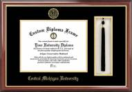 Central Michigan Chippewas Diploma Frame & Tassel Box