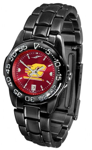Central Michigan Chippewas Fantom Sport AnoChrome Women's Watch