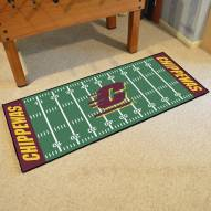 Central Michigan Chippewas Football Field Runner Rug