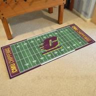Central Michigan Chippewas Football Field Runner Rug