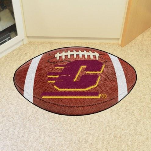 Central Michigan Chippewas Football Floor Mat