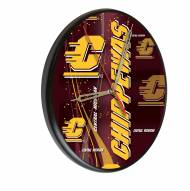 Central Michigan Chippewas Digitally Printed Wood Clock