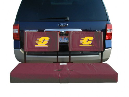 Central Michigan Chippewas Tailgate Hitch Seat/Cargo Carrier