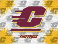 Central Michigan Chippewas Logo Canvas Print
