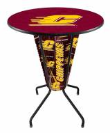 Central Michigan Chippewas Indoor Lighted Pub Table