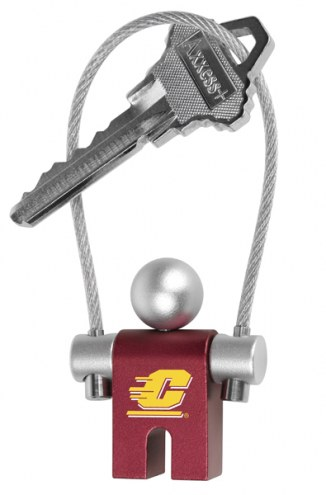 Central Michigan Chippewas Jumper Keychain
