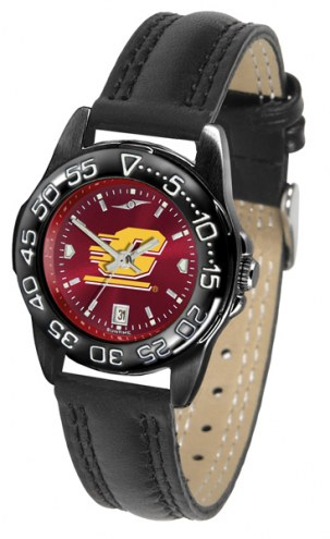 Central Michigan Chippewas Ladies Fantom Bandit AnoChrome Watch