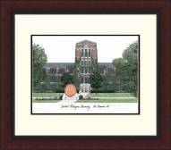 Central Michigan Chippewas Legacy Alumnus Framed Lithograph