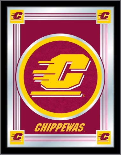 Central Michigan Chippewas Logo Mirror