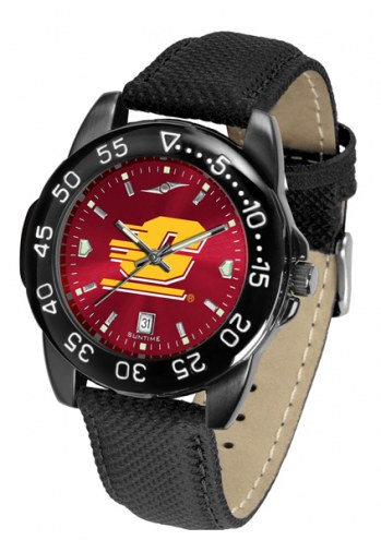 Central Michigan Chippewas Men's Fantom Bandit AnoChrome Watch