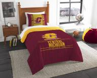 Central Michigan Chippewas Modern Take Twin Comforter Set
