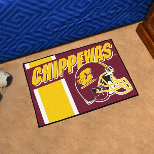 Central Michigan Chippewas NCAA Starter Rug