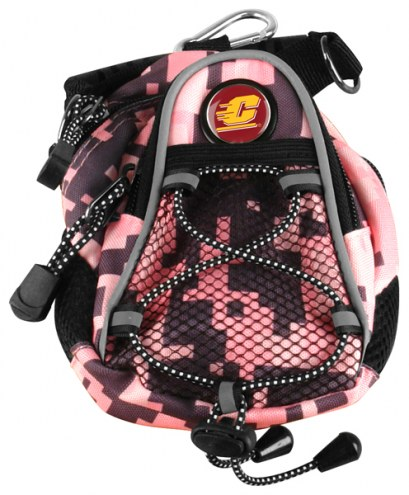 Central Michigan Chippewas Pink Digi Camo Mini Day Pack