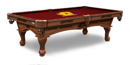 Central Michigan Chippewas Pool Table