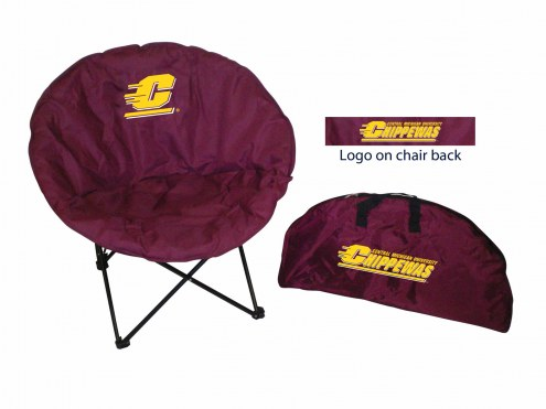 Central Michigan Chippewas Rivalry Round Chair
