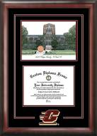Central Michigan Chippewas Spirit Diploma Frame with Campus Image