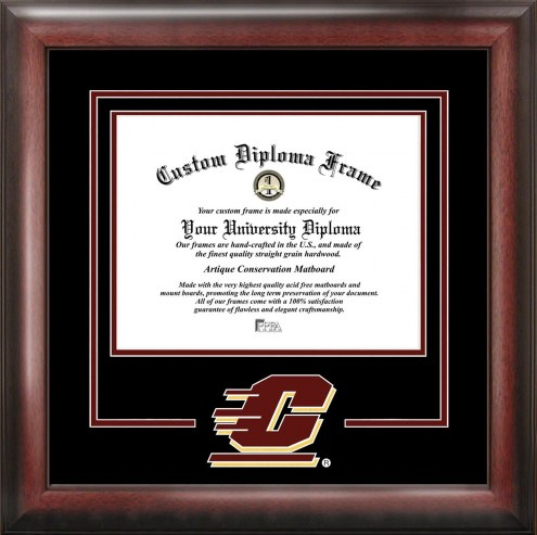 Central Michigan Chippewas Spirit Diploma Frame