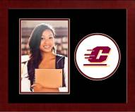 Central Michigan Chippewas Spirit Vertical Photo Frame