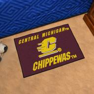 Central Michigan Chippewas Starter Rug