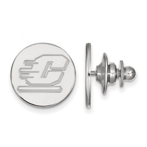 Central Michigan Chippewas Sterling Silver Lapel Pin