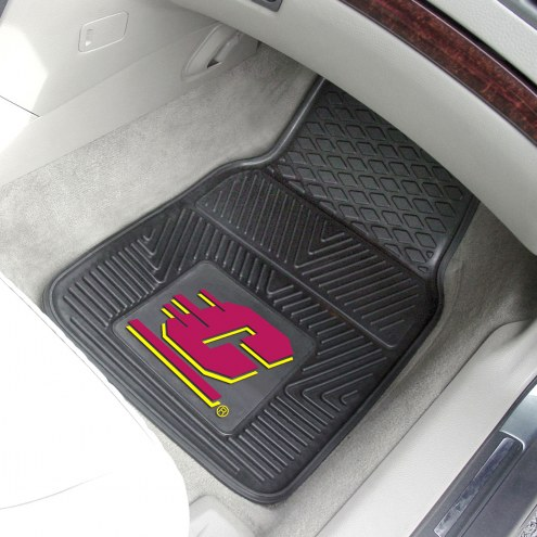 Central Michigan Chippewas Vinyl 2-Piece Car Floor Mats