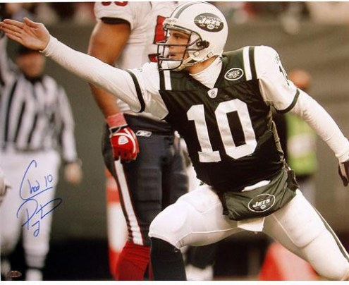 Chad Pennington First Down Point 8 x 10 Photograph