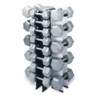 Champion Barbell 4-Sided Vertical Dumbbell Rack - RACK ONLY