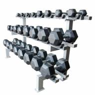 Champion Barbell 12 Pair Adjustable Dumbbell Rack - RACK ONLY