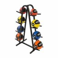 Champion Barbell Double Medicine Ball Rack