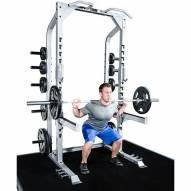 Champion Barbell Half Rack with Platform