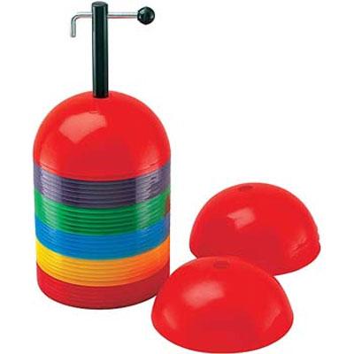 Champion Sports Rigid Dome Cone Set