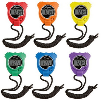 Champion Sports Stopwatch-Set of 6