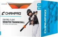 """Champro 9"""" Control Flight Weighted Balls - Dozen"""