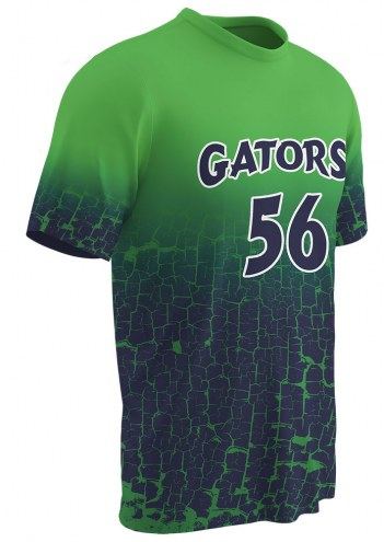 Champro Sublimated Splash Youth Custom Baseball Jersey - Free Player Names