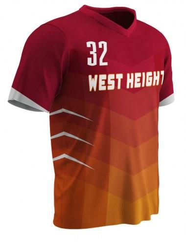 Champro Sublimated Splash Youth Custom Softball Jersey - Free Player Names