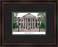 College of Charleston Academic Framed Lithograph