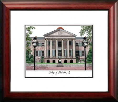 Charleston Cougars Alumnus Framed Lithograph