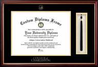 Charleston Cougars Diploma Frame & Tassel Box